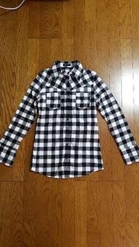 エゴイストブロックチェックシャツ