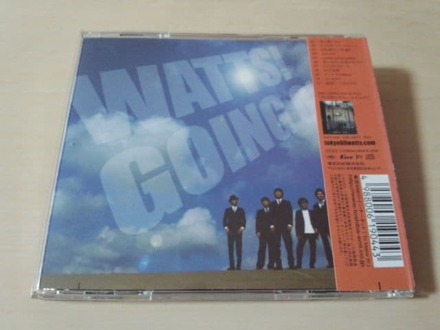 東京60WATTS CD「WATTS!GOING ON」廃盤● < タレントグッズ