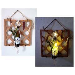 キーフックにも ヒュールガーデ LEDライト 壁飾り