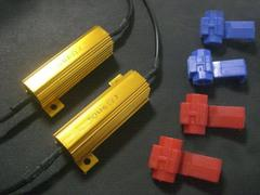 LEDウィンカー ハイフラ防止 抵抗器12V 50W 6Ω 4個