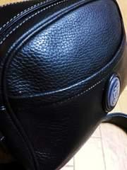 リヤドロ/LLADRO 革製ショルダーバッグ(黒)