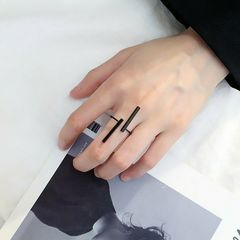 フリーサイズ バー 指輪