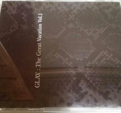3枚組ベストCD GLAY The Great Vacation Vol.1
