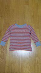 新品 babyGap     長袖カットソー      くまさん刺繍入り 95