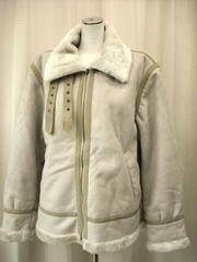 【MODERM】【男性用】薄いベージュのジップアップジャケット