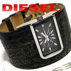 モバオクで買える「極レア 1スタ★DIESEL ディーゼル【極太一体型ベルト】腕時計」の画像です。価格は11円になります。