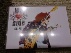 hide「We Love hide The CLIPS」限定DVD/2枚組/X JAPAN