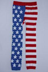 クール!USフラッグ柄キッズ子供用スパッツ/レギンス90-100星条旗USA