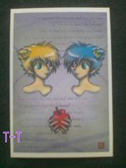 ●自作ポストカード/双子星/少年