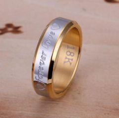人気 個性的デザインリング 指輪 華奢リング(B-8サイズ)