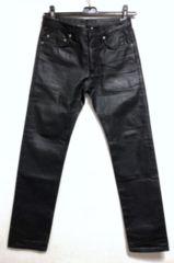 正規 エディ Dior Hommeディオールオム コーティングデニム パンツ黒 30 M ナイトフォール