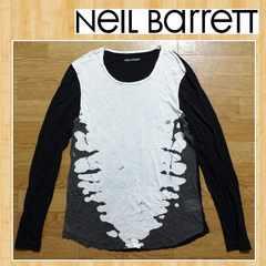 NEIL BARRETT ニールバレット Tシャツ カットソー S アオイ 国内正規品