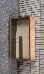 アンティークレトロな飾り棚硝子ケース