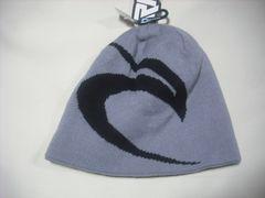 rc306 男 RIP CURL リップカール ニット帽 ビーニー 灰