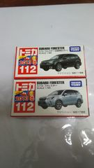 NO.112  SUBARU  FORESTER   初回特別カラー・新車シール