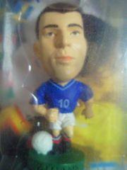 PRO Stars サッカー フランス 代表 ジダン フィギュア 2002