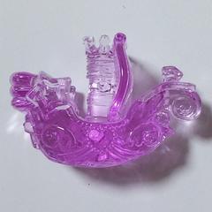 【未使用】アクリルアイス★紫ピンクのお舟★レア