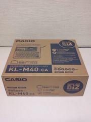 <送無>CASIO人気ネームランドKL-M40(新品)*便利な収納ケース付き