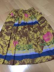 美品、夏物デザイン フレアースカート