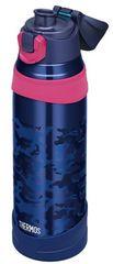 水筒 真空断熱スポーツボトル 1.0Lネイビーカモフラージュ