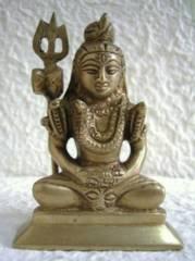 ☆即決☆真鍮製 シバ神像 9センチ ヒンドゥー・仏像