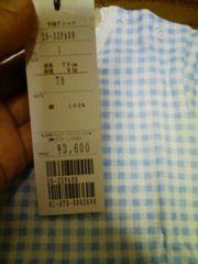 新品★『COMME CA DU MODE』半袖Tシャツ=定価3600=70=