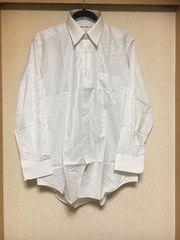 100スタ★新品未使用★ミラショーン:ストライプシャツ(メンズ)(L