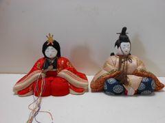 9906◆1スタ◆日本人形 雛人形 雛祭り お内裏様とお雛様
