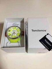 tendence☆時計。イエロー.新品未使用。テンデンス。