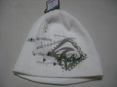 rc149 男 RIP CURL リップカール ニット帽 ビーニー 白