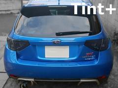 Tint+再利用できる インプレッサ STI GRB/GRF テールランプ スモークフィルム