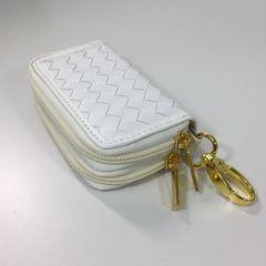 キーケース コインケース カードケース 男女兼用 新品 白