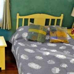 マルチクロス ハリネズミ アニマル柄 子供部屋/インテリア/ベッドカバー/ソファーカバー
