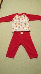 アンパンマン♪赤色パジャマ♪90