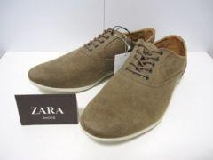 □ZARA/ザラ デザイン シューズ スニーカー/メンズ27.5cm☆新品