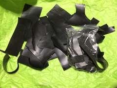レザークラフト 革ハギレ 本革 ブラック 2kg
