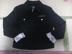 バーバリー ジャケット 黒 160cm 正規品