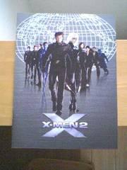 ヒュー・ジャックマン主演映画「X-MEN2」パンフレット