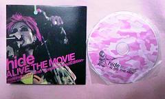 非売品hide Alive the movie 数量限定音源CDX JAPAN 映画
