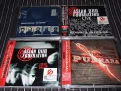 ASIAN DUB FOUNDATION AL.4枚セット 新品廃盤(IGGY POP,RADIOHEAD)