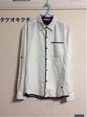 タケオキクチ 長袖シャツ