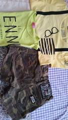 ZIDDY.Jenni☆3点まとめて150�p☆半袖Tシャツ,ショーパン