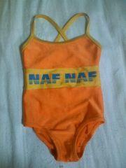 80NAFNAFオレンジワンピース型水着