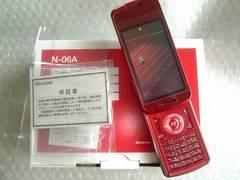 *N-06A/N06A*  新品未使用品*   レッド