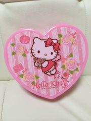 新品☆キティちゃん薔薇柄ハートミニドレッサー☆バラ柄ピンク