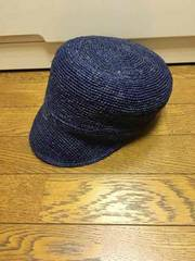 CA4LA☆麦わら帽子☆ラフィア素材☆キャスケット☆新品同様