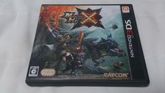 3DS版!!モンスターハンタークロス!!(^-^)