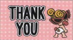 65面Q1-2/thank youシール☆HM《65枚》