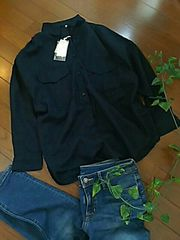 〇studio CLIP〇シャキ感リネンのBIGシルエットシャツ*・゜新品