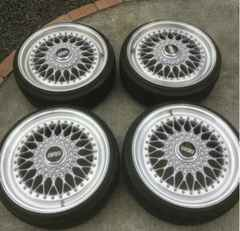 BBS RS 17インチ 100 4穴 軽 コンパクト